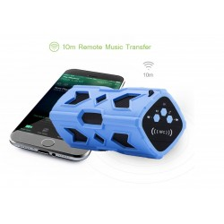 Autoparlante impermeabile super bass NFC Bluetooth 10W