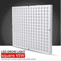 Panel LED de 45 W - planta cultivar luz hidropónica 225 LED