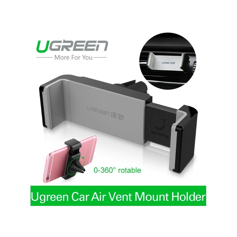 Ugreen Support Universel Smartphone Voiture Ventilateur