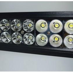12V 120W LED Lichtbalk Spot - Verstraler & Combo 56cm