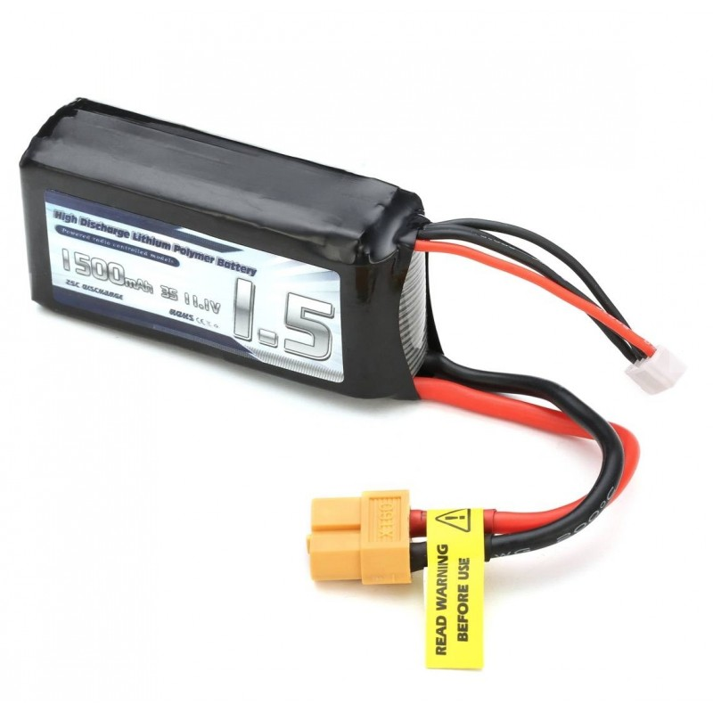 Eachine Racer 250 1500mAh 3S 11.1V 25C Lipo Battery
