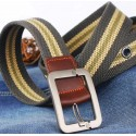 Men's Pin Buckle Canvas Belt