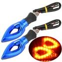 Universal LED Motorcycle Turn Signal Indicators Lights 2pc