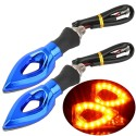 Universal LED Motorcycle Turn Signal Indicators Lights / Lamp