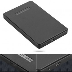 "External Hard Drive Disk Enclosure Usb 2.0 Sata 2.5"" Inch"