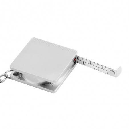 Metal Tape Measure Keychain Keyring