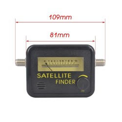 Digital Satellite Finder Meter FTA LNB DIRECTV Signal Pointer SATV Satellite TV Receiver