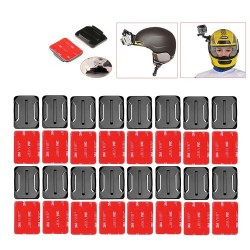 Stickers e supporto per Elmetto GoPro16pcs