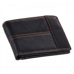 COWATHER 100% Top Quality Cow Genuine Leather Men's Wallet