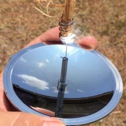 Draussen Camping Feuer Anlasser Solar Feuerzeug