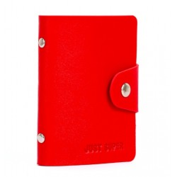 Men's Women Leather Credit Card Holder