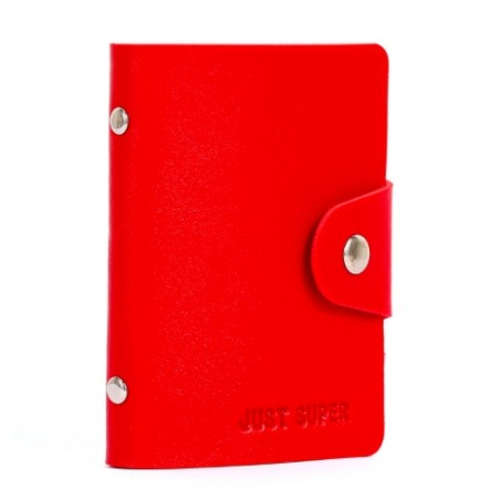 Trendy Leather Credit Card Holder
