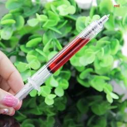 Stylo à bille seringue 4pcs