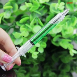 Liquid Syringe Ballpoint Pen 4pcs