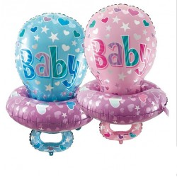 Baby Pacifier Nipple Foil Balloon