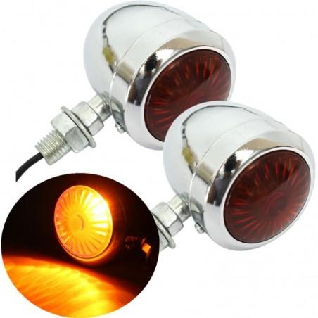 12V motorcycle turning signal lights - indicators 2 pieces