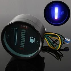 10 LED 12V - sensor de nivel de combustible para motocicleta / automóvil - aleación de aluminio