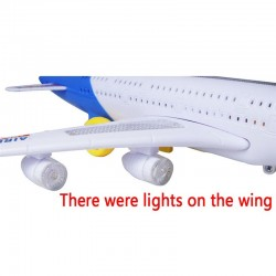 Universal A380 Model Automatic Steering Airplane Toy