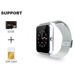 GT08 Plus Metal Bluetooth Karta SIM SmartWatch