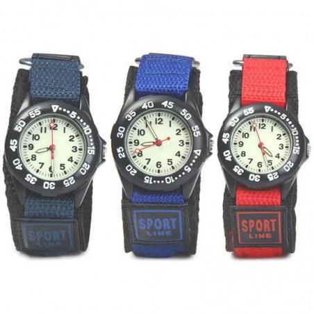 Fabric Strap Waterproof Military Quartz Watch