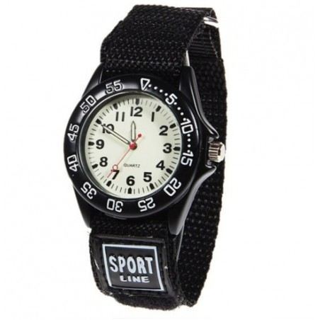 Military kids Quartz watch - fabric strap - waterproof