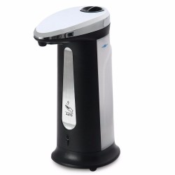 AD-03 400Ml ABS Electroplated Automatic Liquid Soap Dispenser Smart Sensor Touchless Sanitizer