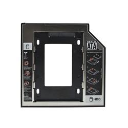 """9.5mm uniwersalny SATA Caddy SSD HDD 3.0 2.5"""" etui obudowa dysku twardego"""