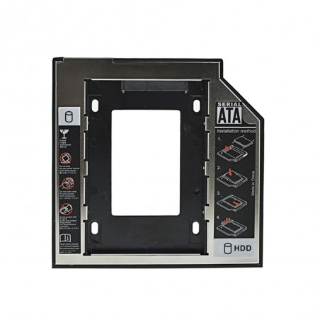 """Insertion hard drive universelle 9.5mm SATA Caddy SSD HDD 3.0 2.5"""""""