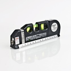 Multipurpose Level Laser Horizon Vertical Measure Tape