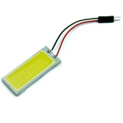 Xenon HID białe 36 COB LED światło żarówka lampa wnętrza samochodu panel 12V 5500K -6000K 2 szt