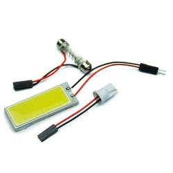 Pannello luci Xenon HID 36 COB LED 12V 5500K -6000K 2 pcs