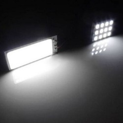 Panelo luces Xenon HID 36 COB LED 12V 5500K -6000K 2 pcs
