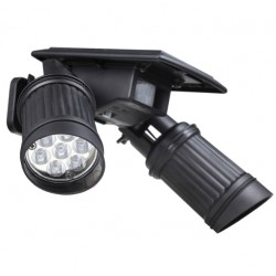 14 LED Solarleuchte Bewegungsmelder Wasserdichte Doppelte Flutlicht Strahler