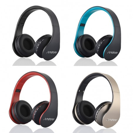 Digital 4 in 1 wireless stereo bluetooth headphones headset with microphone