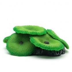 Akwariowa Zielona Parasolka Miękki Silikonowy Sztuczny Koral