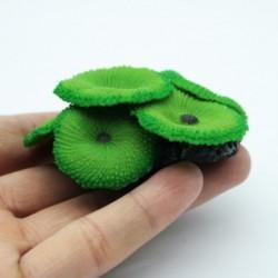 Aquarium Grün Regenschirm Weiche Silikon Künstliche Koralle