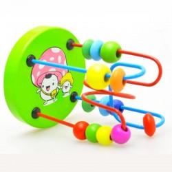 Jouet pour enfants de bois et perles