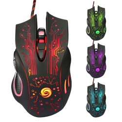 3200DPI LED Optical USB Wired Gaming Mouse