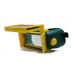 Gafas de soldar con oscurecimiento automático solar - máscara de ojos - DIN 11