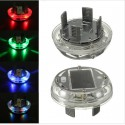 4 Modes 12 LED Car Solar Energy Flash Wheel Tire Rim Light Lamp 4pcs