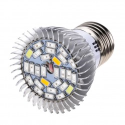 8W E27 28 Led Grow Light Full Spectrum