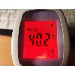 Termometro multiuso - infrarosso - digitale - senza contatto