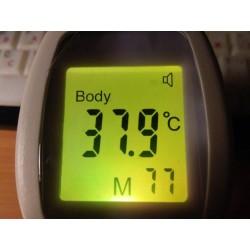 Multi-usages - infrarouge - numérique - thermomètre corporel sans contact
