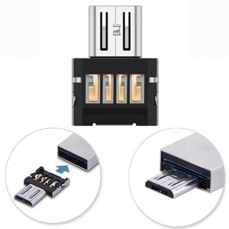Convertitore adattatore Mini USB 2.0 Micro USB OTG
