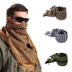 Military Windproof Winter Men's Scarf Shawl