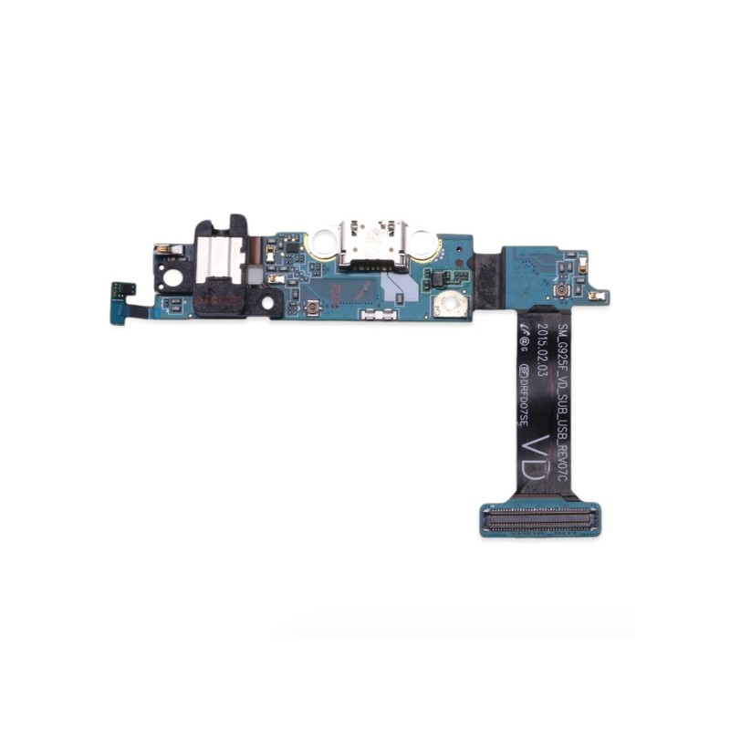 Samsung S6 Edge G925F Micro USB Plate Loading Dock Connector Port
