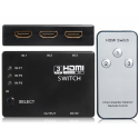 3 to 1 HDMI Switcher With Remote Control