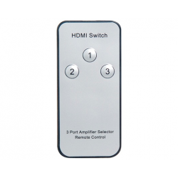 3 A 1 HDMI Switcher Incl. Telecomando