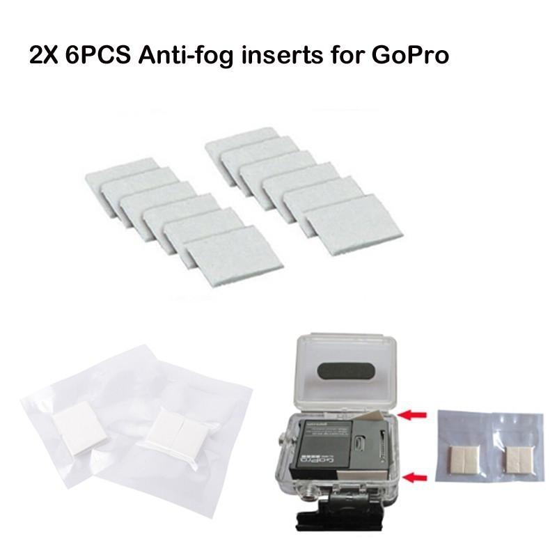 Insertos antiniebla para Gopro Hero 5 4 3 3+ 2 12pcs