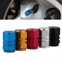 Aluminum Car Wheel Tire Valves Caps 4pcs